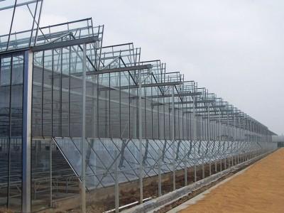 智能文洛型玻璃温室