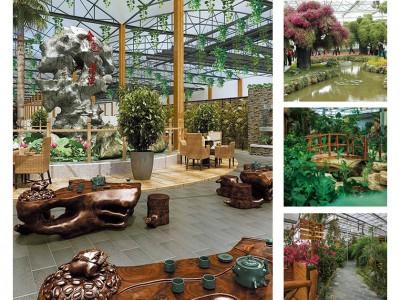 Sightseeing greenhouse