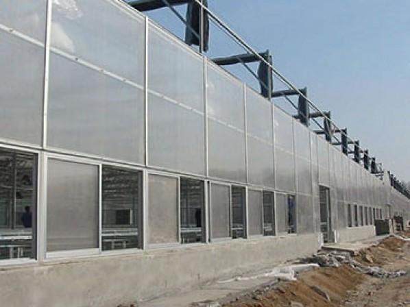 文洛型阳光板温室